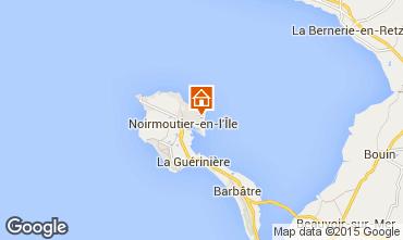Kaart Noirmoutier en l'Île Villa 93515