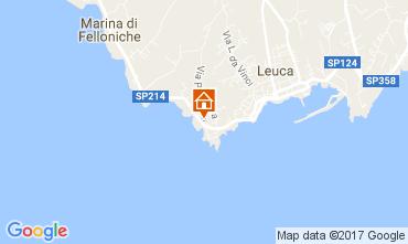 Kaart Santa Maria di Leuca Appartement 107977