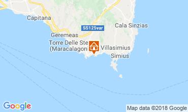 Kaart Villasimius Appartement 51993