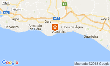 Kaart Albufeira Appartement 103742