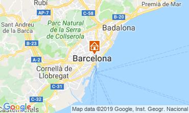 Kaart Barcelona Appartement 118351