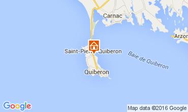 Kaart Saint Pierre Quiberon Huis 106018
