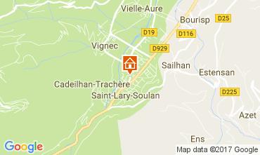 Kaart Saint Lary Soulan Appartement 110661