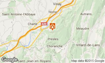 Kaart Villard de Lans - Corrençon en Vercors Chalet 52709