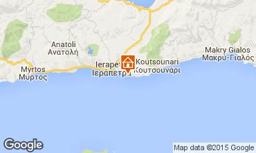 Kaart Ierapetra Appartement 34430