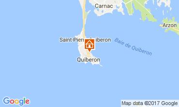 Kaart Quiberon Villa 80907