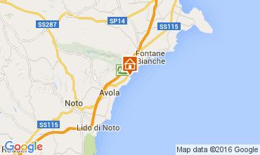 Kaart Avola Villa 93429