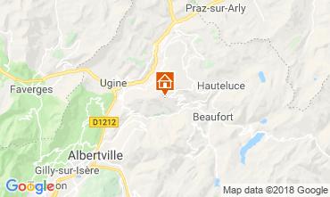 Kaart Les Saisies Appartement 116762