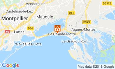 Kaart La Grande Motte Studio 108813