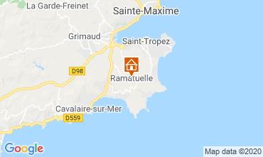 Kaart Saint Tropez Stacaravan 108259