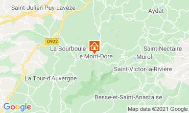 Kaart Le Mont Dore Appartement 3906
