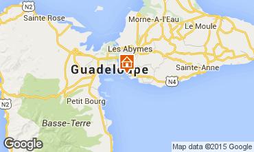 Kaart Gosier (Guadeloupe) Studio 8004