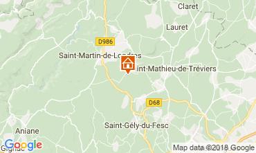 Kaart Saint-Gély-du-Fesc Huis 114910