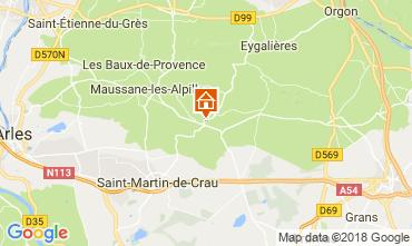 Kaart Les Baux de Provence Vakantiehuis 113913