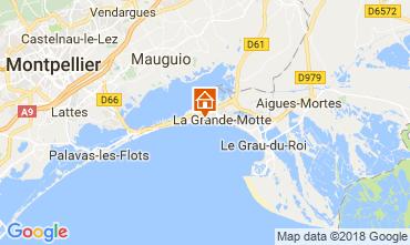 Kaart La Grande Motte Studio 116057