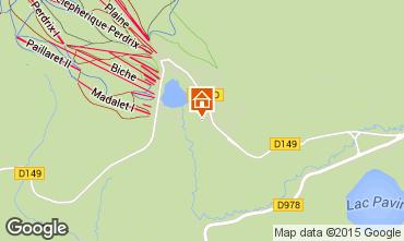 Kaart Besse - Super Besse Chalet 67212