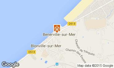 Kaart Deauville Appartement 101396