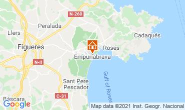 Kaart Empuriabrava Appartement 106925