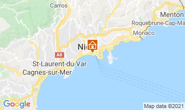 Kaart Nice Appartement 8341