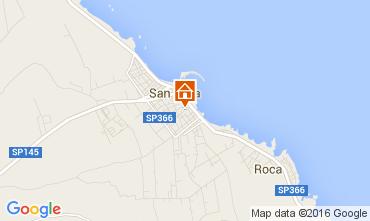 Kaart San Foca Appartement 94580