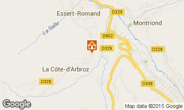 Kaart Morzine Chalet 80713