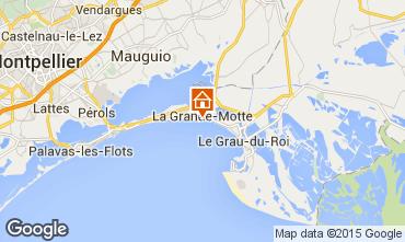 Kaart La Grande Motte Appartement 82525