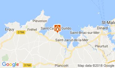 Kaart Saint Cast Le Guildo Huis 113632