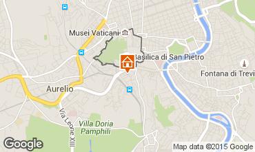 Kaart Rome Appartement 43575