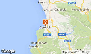 Kaart Agropoli Appartement 34155