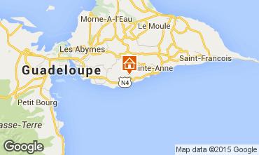 Kaart Gosier (Guadeloupe) Bijzondere B&B 93210