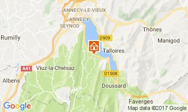 Kaart Annecy Appartement 112137