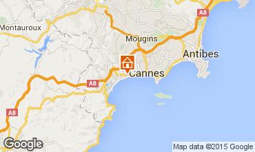 Kaart Cannes Appartement 82546
