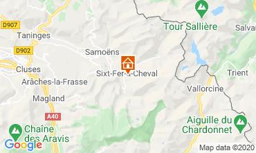 Kaart Sixt Fer à Cheval Chalet 116957