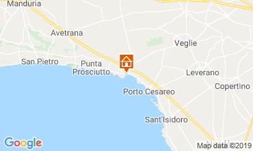 Kaart Porto Cesareo Appartement 117577
