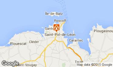 Kaart Saint-Pol-de-Léon Huis 58777