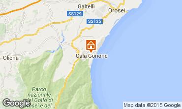 Kaart Cala Gonone Appartement 90605