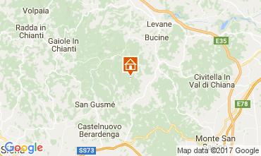 Kaart Siena Vakantiehuis 109624