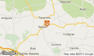 Kaart Barjols Appartement 96501