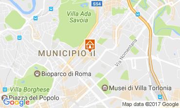 Kaart Rome Appartement 109687