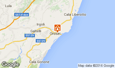 Kaart Orosei Appartement 102708
