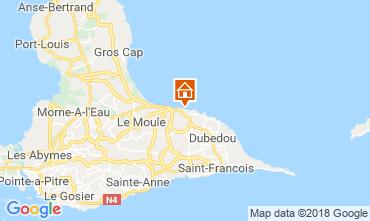 Kaart Le Moule Appartement 117382