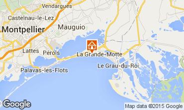Kaart La Grande Motte Appartement 6039