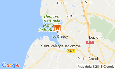 Kaart Le Crotoy Appartement 114336