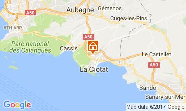 Kaart La Ciotat Appartement 88233
