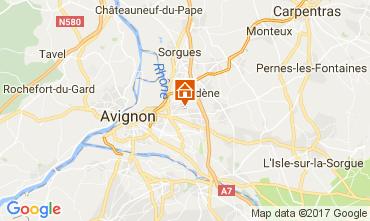 Kaart Avignon Villa 111517