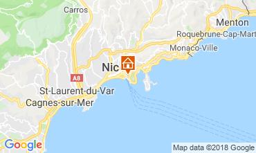 Kaart Nice Villa 117272