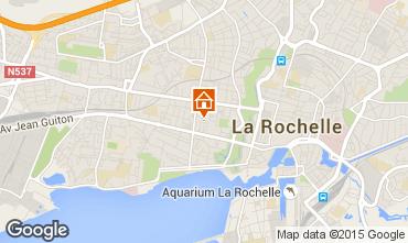 Kaart La Rochelle Huis 83750