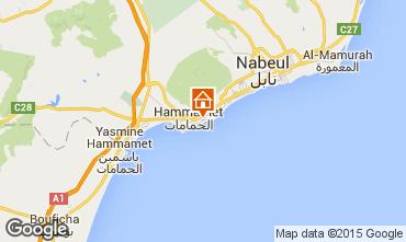 Kaart Hammamet Villa 64711