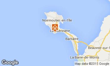 Kaart Noirmoutier en l'Île Huis 61017