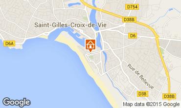 Kaart Saint-Gilles-Croix-de-Vie Appartement 98354